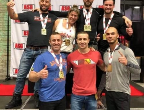 L'équipe de compétition obtient 7 médailles d'or en Ontario